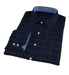 Japanese Blackwatch Flannel Custom Dress Shirt