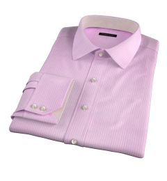 Waverly Pink Check Fitted Shirt
