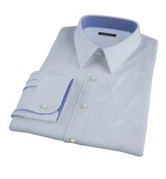 Canclini Light Blue Linen Fitted Shirt