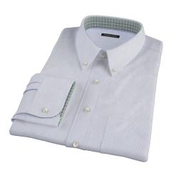 Carmine Blue Fine Stripe Fitted Shirt