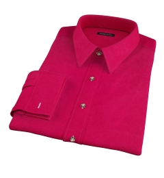 Crimson Red Heavy Oxford Men's Dress Shirt