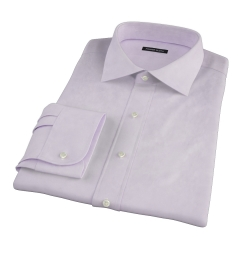 Thomas Mason Lavender Oxford Cloth Tailor Made Shirt