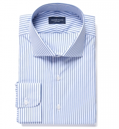 Rye Blue Bordered Stripe Tailor Made Shirt