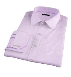 Mercer Lavender Pinpoint Custom Dress Shirt
