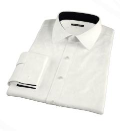 Ivory Regal Twill Custom Made Shirt