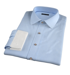 Waverly Light Blue Check Dress Shirt