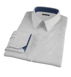 Stanton 120s Grey End-on-End Custom Made Shirt