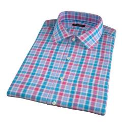 Hibiscus Large Multi Check Short Sleeve Shirt
