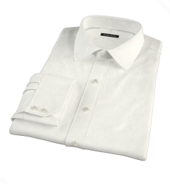 Ivory Regal Twill Men's Dress Shirt