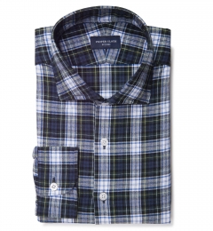Cascade Green Tartan Flannel Tailor Made Shirt