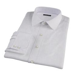 Lavender Micro Grid Custom Made Shirt