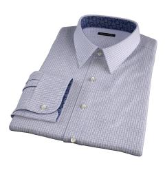 Jones 120s Grey Multi Check Custom Made Shirt