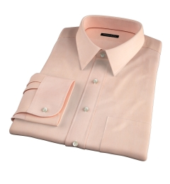 Genova 100s Apricot End-on-End Tailor Made Shirt