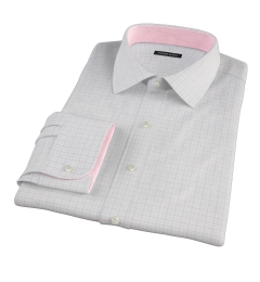 Greenwich Red Twill Check Tailor Made Shirt