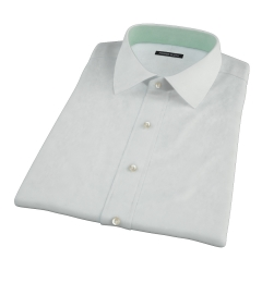 Bowery Mint Wrinkle-Resistant Pinpoint Short Sleeve Shirt
