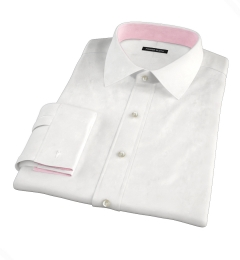 100s Diagonal Jacquard Men's Dress Shirt
