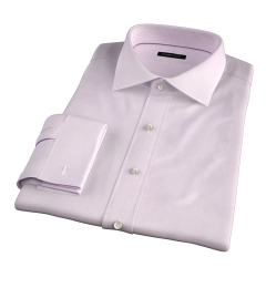 Lazio 120s Pink Multi Grid Tailor Made Shirt