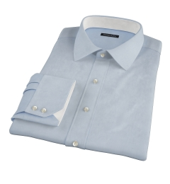 Thomas Mason Blue Twill Fitted Shirt