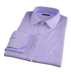Waverly Lavender Check Men's Dress Shirt