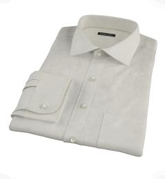 Ivory Easy Care Broadcloth Dress Shirt