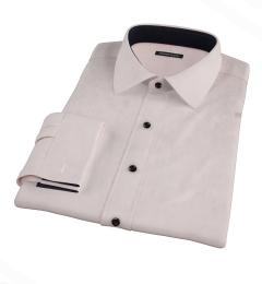 Pink 100s Twill Dress Shirt