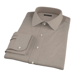Olive Chino Custom Dress Shirt