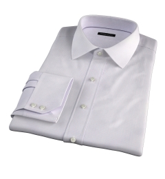 Modena Aqua and Apricot Tattersall Dress Shirt