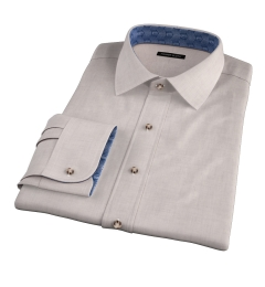 Bleecker Beige Melange Custom Made Shirt