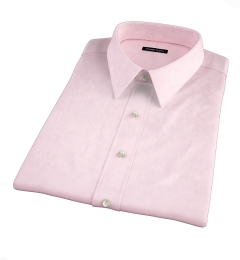 Mercer Pink Pinpoint Short Sleeve Shirt