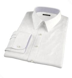 Albini White Regal Twill Dress Shirt