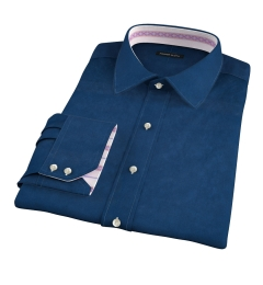 Redondo Dark Blue Linen Tailor Made Shirt