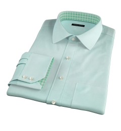 Genova 100s Mint End-on-End Tailor Made Shirt