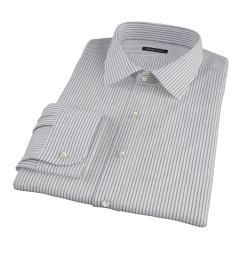 Canclini Black Stripe Men's Dress Shirt