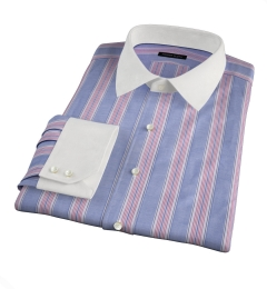 Albini Santa Fe Stripe Custom Made Shirt
