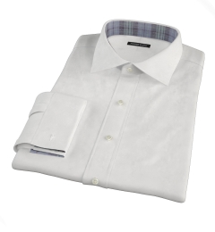 Thomas Mason Goldline White Royal Oxford Fitted Shirt