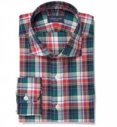 Wythe Multi Color Plaid Tailor Made Shirt