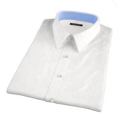 Mercer White Broadcloth Short Sleeve Shirt