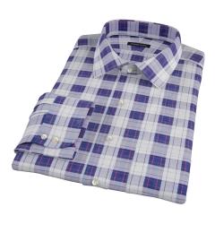 Canclini Etna Plaid Dress Shirt