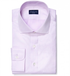 Thomas Mason Goldline Lavender Twill Men's Dress Shirt