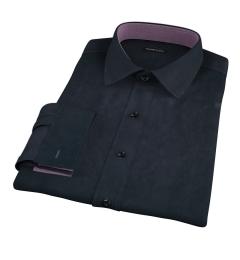 Navy Broadcloth Custom Dress Shirt