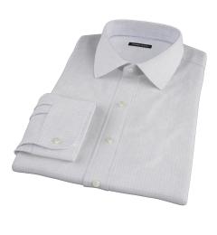 Brown Blue Morton Grid Dress Shirt