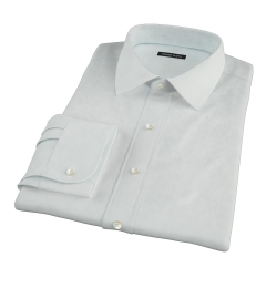 Bowery Mint Wrinkle-Resistant Pinpoint Men's Dress Shirt