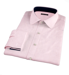 Canclini Pink End on End Custom Dress Shirt
