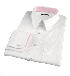 Redondo White Linen Dress Shirt