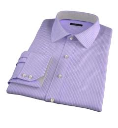 Waverly Lavender Check Custom Made Shirt