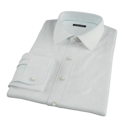 Bowery Mint Green Pinpoint Custom Dress Shirt