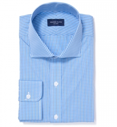 Waverly Blue Check Dress Shirt
