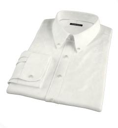 Greenwich Ivory Broadcloth Men's Dress Shirt