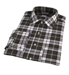 Canclini Pine Plaid Beacon Flannel Dress Shirt