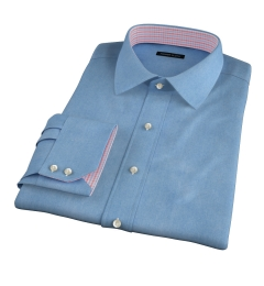 Japanese Washed Denim Custom Dress Shirt